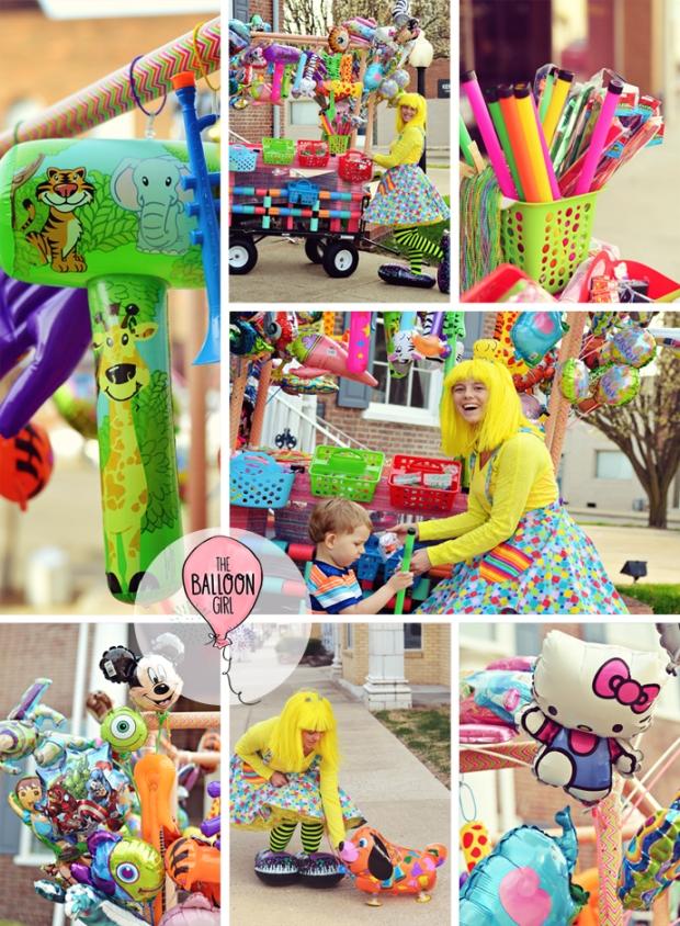 Daphne the Balloon Girl