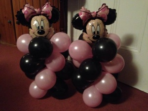 Minnie Table decorations