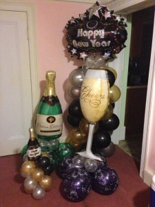 New Years Eve Balloon Decor!