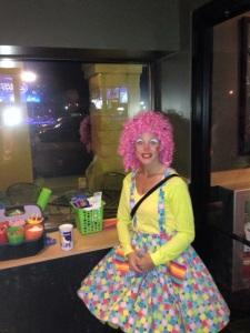 Sparkles the clown